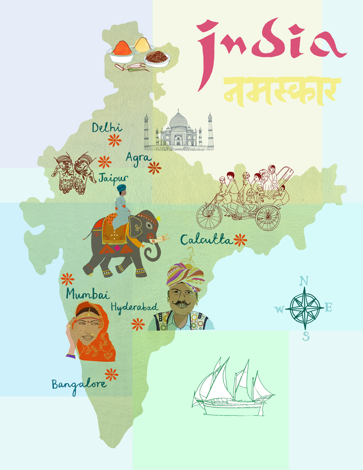 Unity Line Art Map : Inspiration hand drawn maps claudia pearson illustration