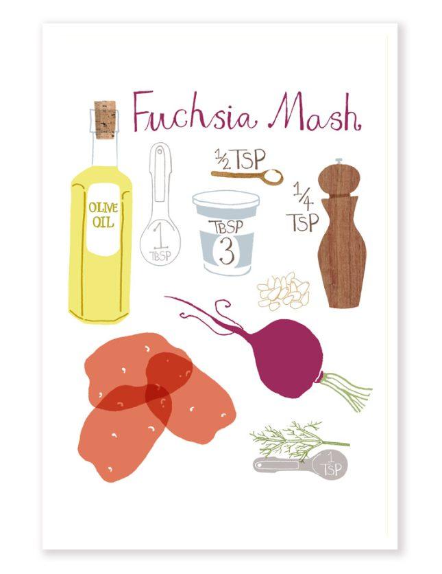 Fuchsia Mash