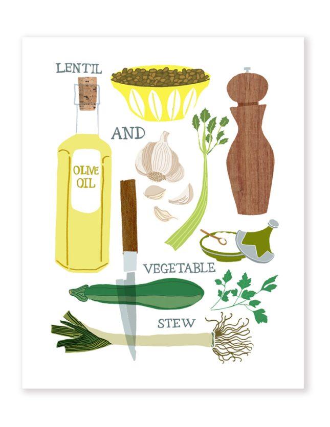 Lentil and Veg